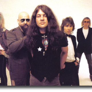 Gillan - Featuring from left to right. . . Ian Gillan, John McCoy, Ian Gillan, Colin Towns, and Mick Underwood