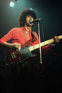 Philip Lynott (Thin Lizzy) I believe that night at Emerald City!