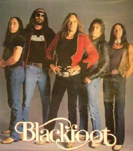 Blackfoot now with Jackson spires, Charlie hargrett, Ricky Medlocke, Ken Hensley, and Greg T Walker