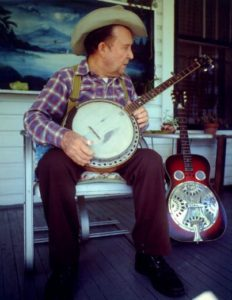 Shorty Medlock, Bluegrass Picker and Grand Pappy to Ricky Medlocke, Wrote their tune Train Train and performed on several others.
