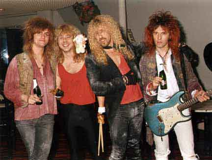 Desperado featuring Dee Snider, Bernie Torme, Clive Burr and Marc Russell