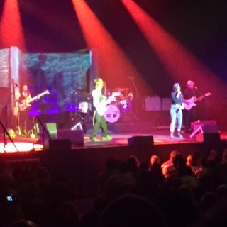 Jeff Beck and his band at the Theater at Madison Square Garden on July 20th 2016.