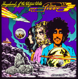 Thin Lizzy's Vagabonds of the Western World - The artist is Jim Fitzpatrick