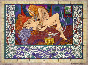 The Dream of Nuada - Found in Fitzpatrick's Book of Conquestsm and likewise his website - www.jimfitzpatrick.com
