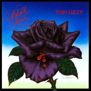 Thin Lizzy's Black Rose. Artwork by Jim Fitzpatrick