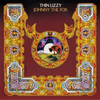 Thin Lizzy's Johnny the fox album. Artwork by Jim Fitzpatrick