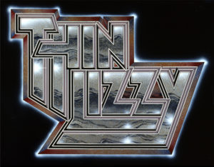 Thin Lizzy - The Classic Logo - Designed and created by Jim Fitzpatrick