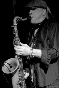 Danny Ray on Saxophone (Photographer - Alan Rand)