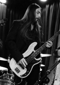 Jimmy Caputo on Bass (Photograph by Alan Rand)