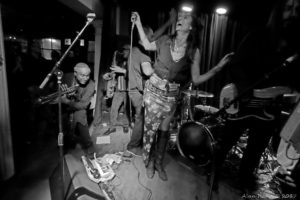 Mad Juana at Berlin - March 17, 2016 (Photograph - Alan Rand)