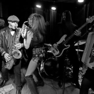 Mad Juana at Berlin on St Patrick's Day, March 17, 2017 (Photograph - Alan Rand)
