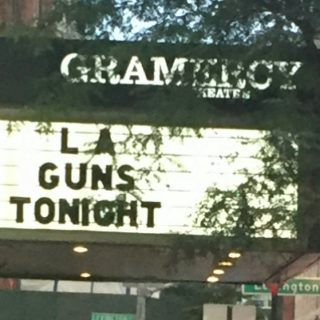 LA Guns at the Gramercy Theater, NYC