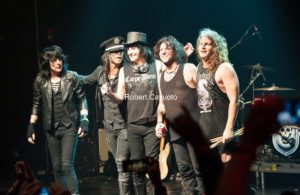 LA Guns at the end of an amazing show at the Gramercy Theater in NYC 8-2-17
