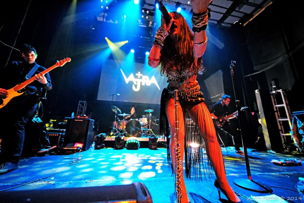 Vajra at the Gramercy theater on 1/16/19  (Alan Rand is the photographer.)