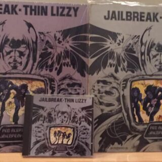 Thin Lizzy's Jailbreak album - released on March 26 1976